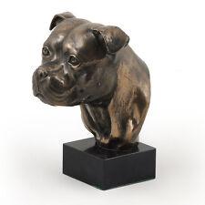 Staffordshire Bullterrier, Hundemarmorstatue Büste, ArtDog, CH