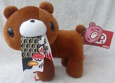 "Official Chax GP TAITO Gloomy Bear Standing Brown Soft Plush Toy Japan Kawaii 9"""