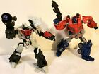 Transformers Generations Deluxe Cybertronian Optimus Prime and Megatron WFC