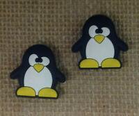Penguin Shoe Bracelet Wristband Charm Set