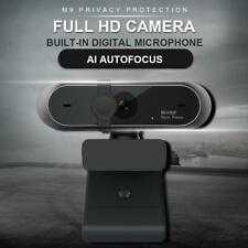 1080P Webcamera HD Anti-peeping live Conference Rotatable USB android ios