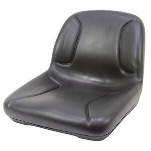Black Mower Seat 1-5063-A