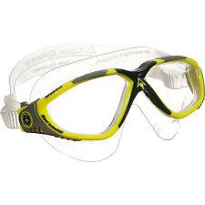 Masque piscine Aquashere Vista  Yellow dark neuf avec boite