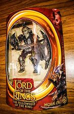 Moria Orc! Lord of the Rings Lotr Fotr Fellowship of the Ring Toy Biz Rare!