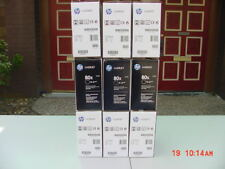 Lot of 9 Original HP CF280X 80X Toner Cartridges,Used!