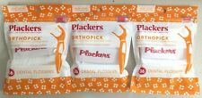 Plackers OrthoPick Floss for Braces 36 Pack Orthodontic Flossers  3 Pack