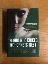 The Girl Who Kicked the Hornets' Nest by Stieg Larsson HC DJ VG