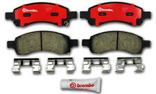Brembo Disc Brake Pad Set fits 2007-2010 Saturn Outlook  WD EXPRESS