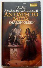 Sharon Green AN OATH TO MIDA - Jalav Amazon Warrior #2