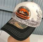 Family Farms Eleva Wisconsin Camo Deer Graphic Adjustable Baseball Cap Hat