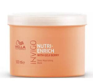 Wella Professionals Invigo Nutri-Enrich Deep Nourishing Mask 500ml Goji Berry