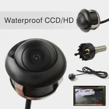 360° Car Rear View Reversing HD CCD Camera Back Up Parking Plate Night Vision