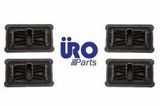 For E60 E61 Set of 4 Under Car Support Pad for Lifting Jack Pad Plug Cover URO