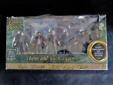 Lord Of The Rings FOTR Hobbit Gift Set There & Back Again Figures MIB