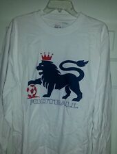 England kit  LS football soccer home jersey T-shirt Large
