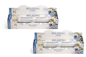 Stamford Premium Relaxing Hex Incense Stick 12 Pack - Total 240 Stick