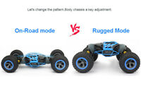 7seas® 4 WHEEL-DRIVE REMOTE-CONTROL RC LEOPARD KING CLIMBING STUNT CAR UK CE