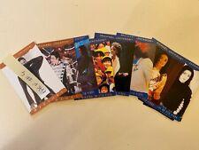 Michael Jackson Lot de 10 Cartes Trading Cards 1996 PANINI Bonne état Pack n°4
