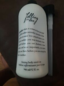 Falling In Love by Philosophy 32 OZ. Firming Body Emulsion New No Box with Pump