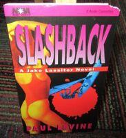 SLASHBACK BY PAUL LEVINE 2 CASSETTE AUDIOBOOK, A JAKE LASSITER NOVEL, 3 HOURS