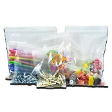 "100 Grip Seal Bags Self Resealable Mini Grip Poly Plastic Clear   - 1.5"" x 2.5''"