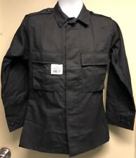 Elbeco Tactical Twill BDU Long Sleeve Uniform Black Shirt 09200