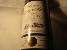 Chateau Lestage-Simon 2000-Mise au chateau cru Bourgeois-médaille d'or 2002