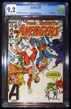 Avengers #248 (1984) CGC 9.2...Eternals app...Movie coming soon...Thing cameo