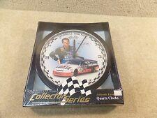 New 1996 NASCAR Darrell Waltrip Parts America Collector Series Quartz Clock