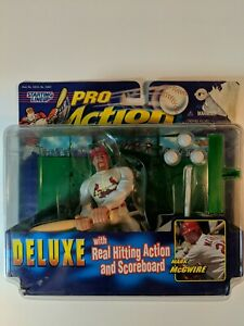 Starting Lineup Mark McGwire Pro Action 1998 Baseball Figure MLB Cardinals NEW!