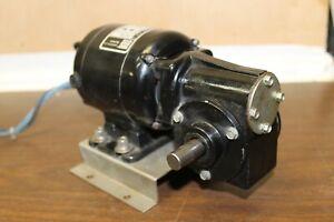 Bodine Electric Gear Motor Nsh-12rh Series 200 115v 1/50hp Plus Speed control