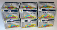 PANINI WC coupe du monde Brasil 2014 14 – 6 x box display 600 POCHETTES PACKETS INT. ED. Argent