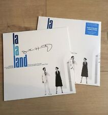 La La Land Soundtrack Blue Vinyl Record LP Blue Variant Justin Hurwitz Signed