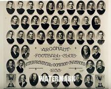 1938 Grey Cup Champion Toronto Argonauts Team Picture 8 X 10 Black & White Photo