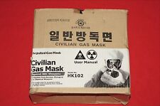 United HK102 Civilian NBC Gas Mask Brand New Expired Filter