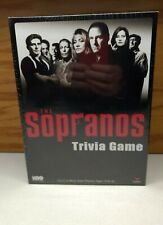 HBO The Sopranos Trivia Game Vinyl Surface & Cards & Chips New Factory Sealed