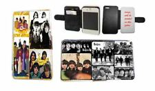 Beatles Collage Yellow Submarine leather phone case for iPhone Samsung Xperia LG