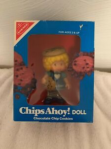 NABISCO CHIPS AHOY ADVERTISING FIGURE LITTLE GIRL DOLL NM/B NEVER OPENED 1983