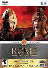 Rome: Total War -- Gold Edition Including Barbarian Invasion (Apple, 2009) SEGA