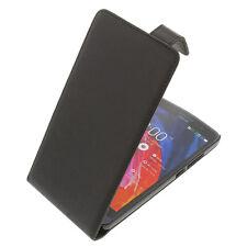 Funda para Asus ZenFone 6 protectora teléfono móvil con tapa Negra