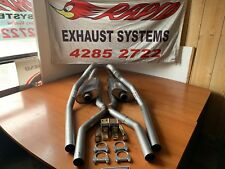 FORD 2.5 INCH 409 S/S EXHAUST SYSTEM WITH X PIPE TO suit XR-XT-XW - XY