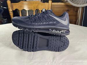 Nike Air Max 2015 Obsidian Size 9 Obsidian/Cool Grey/Electric Green CQ7519-400