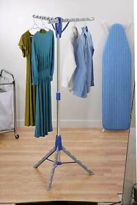 tendedero de ropa plegable portatil para interior colgador Nuevo ajustable