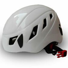White Rescue Helmet Rock Hat Cap Climbing Downhill Caving Rappelling Protector
