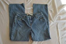 Womens Route 66 Denim Blue Jeans ~ Sz 10S ~ Low Rise ~ Boot Cut ~ RN 42000