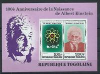 Togo Bloc N°127** (MNH) 1979 - Naissance d'Albert Einstein