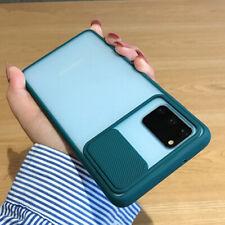 For Samsung S20 Plus Ultra 5G Shockproof Slim Cover Slide Camera Protection Case