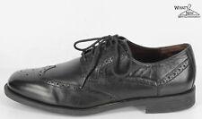 Cole Haan negro detalle en los bordes suela de goma vestido zapatos Sz.11 M