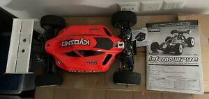 KYOSHO RC Car 4WD Racing Buggy Inferno MP9e & Tekin RX8