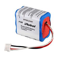 7.2V Battery Fit iRobot Braava 380t 2500mAh 7.2v NI-MH Mint plus 5200 5200C
